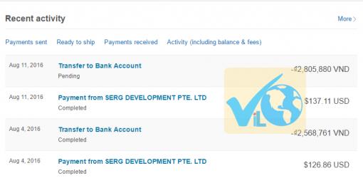 Thanh toán Adnow qua Paypal, Payoneer, Webmoney ra sao – Phần 2