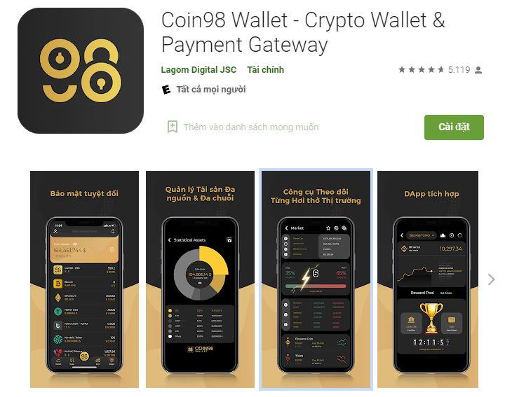 Ví Coin98 là gì?