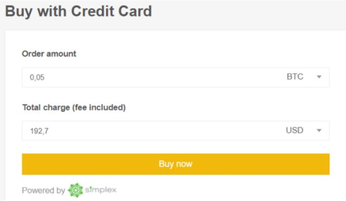 truy cập trang thẻ tín dụng trao đổi Binance